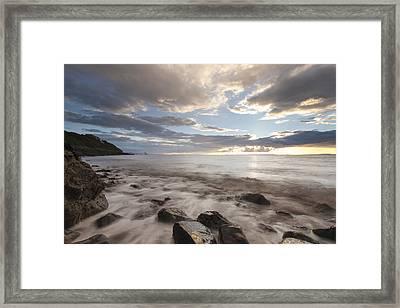 Ladye Bay Framed Print by Don Hooper