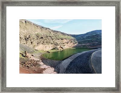 Lago Verde - Lanzarote Framed Print by Joana Kruse