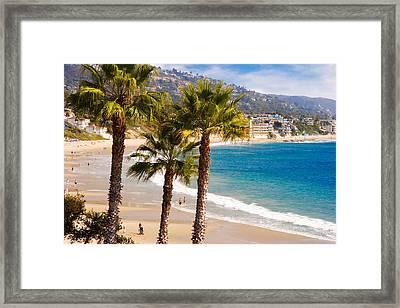 Laguna Beach California Coast Framed Print by Utah Images