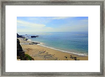 Laguna Beach California Framed Print