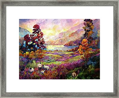 Lake Bala, Wales Framed Print