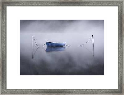 Lake Llyn Padarn - Wales Framed Print
