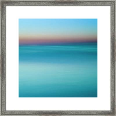 Lake Ontario - Abstarct Photography Framed Print
