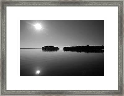 Lake Sam Rayburn Framed Print