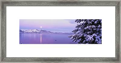 Lake Tahoe Ca Framed Print