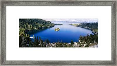 Lake Tahoe, California Framed Print by Panoramic Images