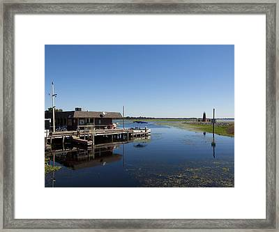 Lake Toho At Kissimmee In Florida Framed Print