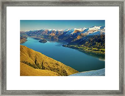 Lake Wanaka Framed Print by Martin Capek