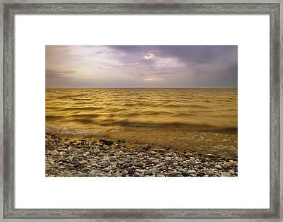Lake Winnipeg, Manitoba, Canada Framed Print
