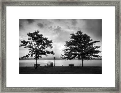 Lakeside Park I Framed Print by Steven Ainsworth