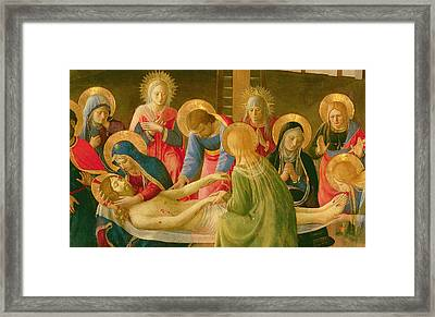 Lamentation Over The Dead Christ Framed Print