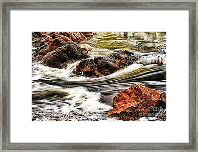 Lamina Flow Framed Print by Blair Stuart