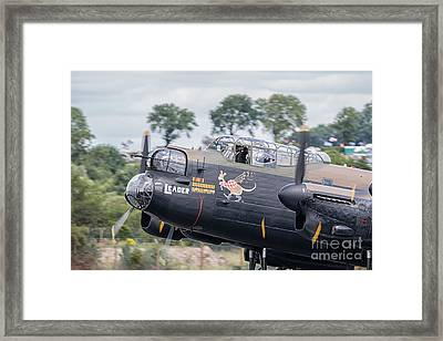 Lancaster L-leader Framed Print
