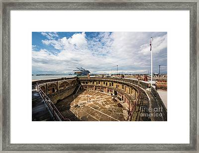 Landguard Fort Framed Print