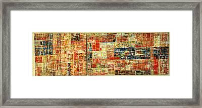 Landscape Framed Print by Budis
