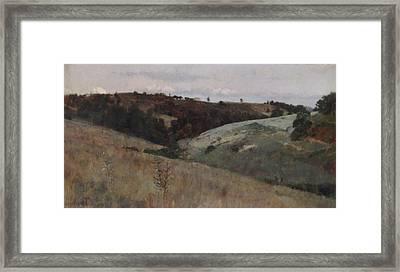 Landscape  Framed Print by Kenyon Cox