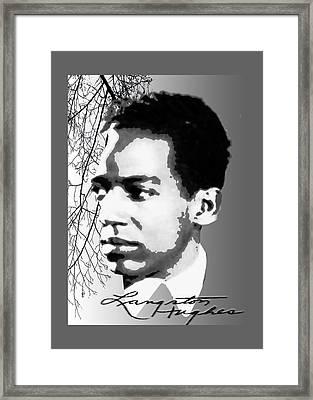 Langston Hughes Framed Print