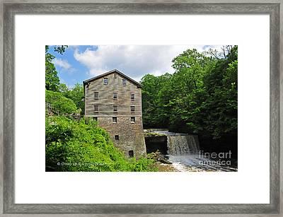 D9e-28 Lantermans Mill Photo Framed Print