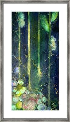 Lapis Framed Print by Karin Mulawa