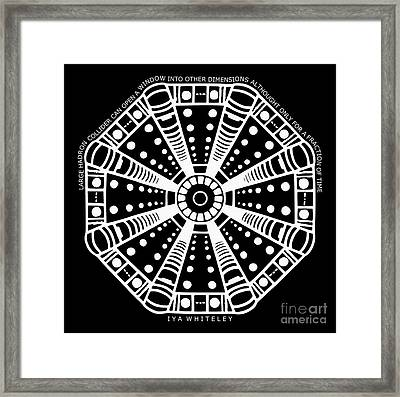Large Hadron Collider Window Into Other Dimensions Framed Print