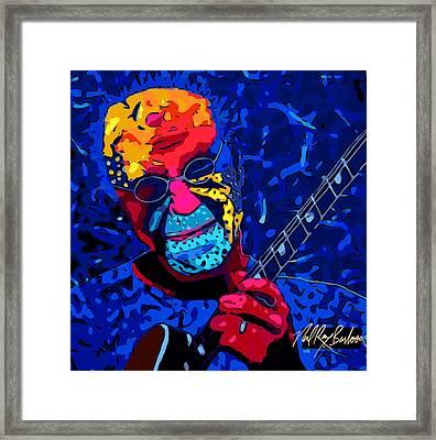 Larry Carlton Framed Print