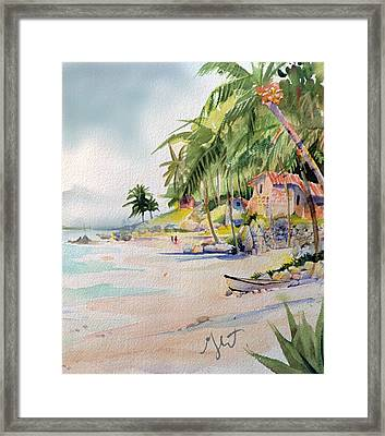 Framed Print featuring the painting Las Animas by Gertrude Palmer