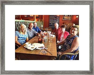 Lassen Hall Reunion Framed Print
