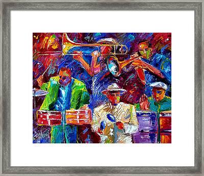 Latin Jazz Framed Print by Debra Hurd
