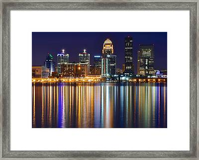 Lavender Louisville Framed Print by Frozen in Time Fine Art Photography