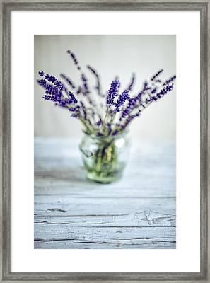 Lavender Still Life Framed Print