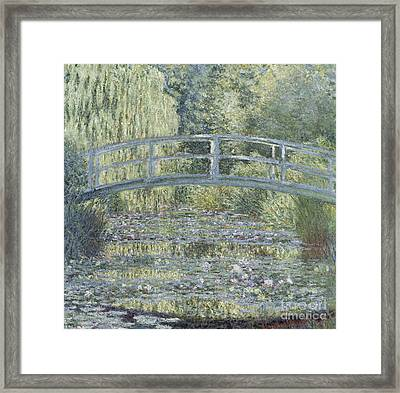 Le Bassin Aux Nympheas Framed Print by Celestial Images