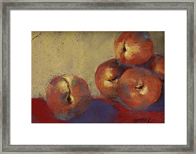 Le Peches Framed Print by Kathleen Hartman