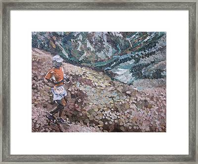 Leadville 100 Ultra Framed Print by Kendal Greer