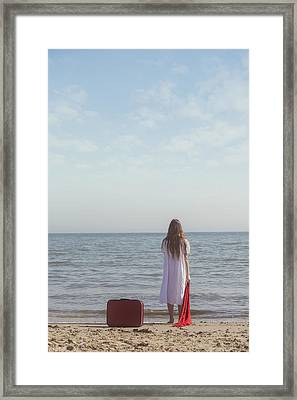 Leaving Framed Print by Joana Kruse