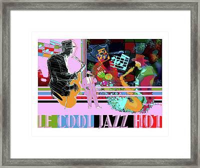 Lecooljazzhot Framed Print