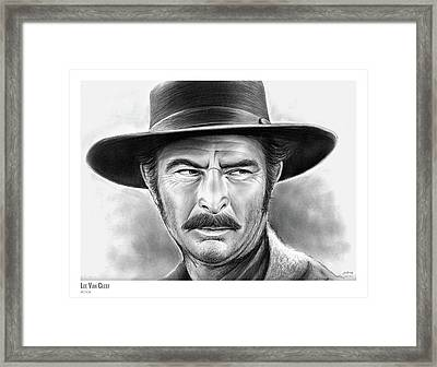 Lee Van Cleef Framed Print