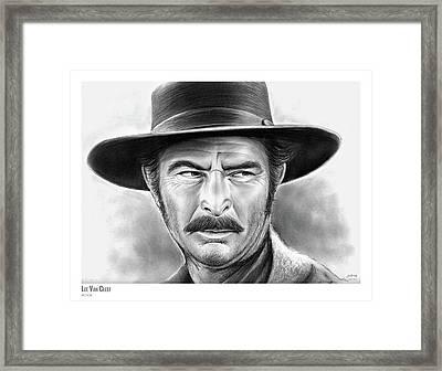 Lee Van Cleef Framed Print