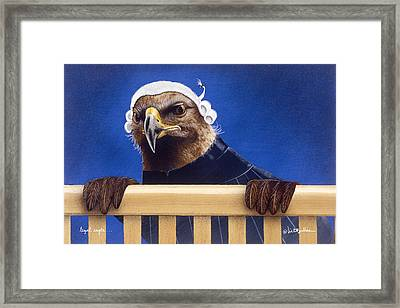Legal Eagle... Framed Print by Will Bullas