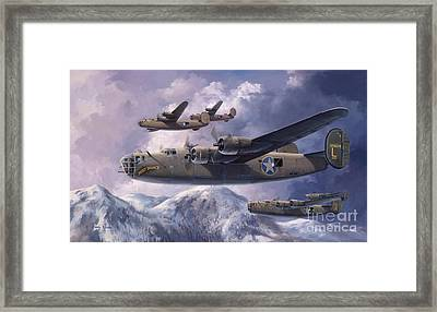 Legends Of The 93rd  Framed Print by Randy Green