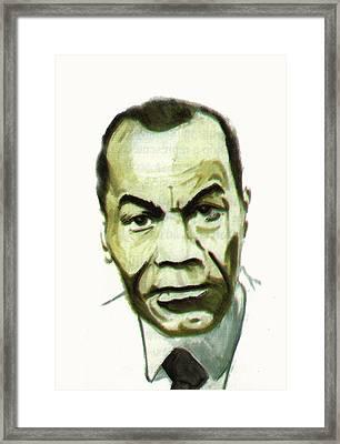 Leon Gontran Damas Framed Print