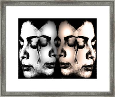 Let Her Cry  Framed Print by Angelina Vick
