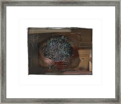 Let It Out Framed Print by Nuff
