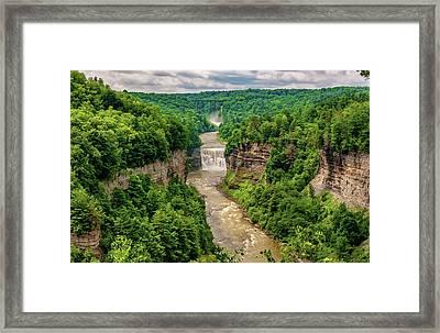 Letchworth State Park 6 Framed Print by Steve Harrington