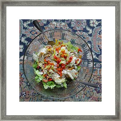 Framed Print featuring the photograph Lets Do Lunch by Joel Deutsch