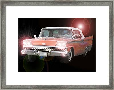 Let's Go Framed Print by David and Lynn Keller