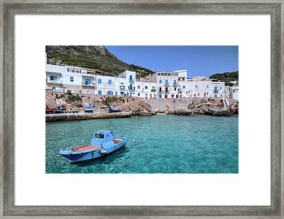 Levanzo - Sicily Framed Print by Joana Kruse