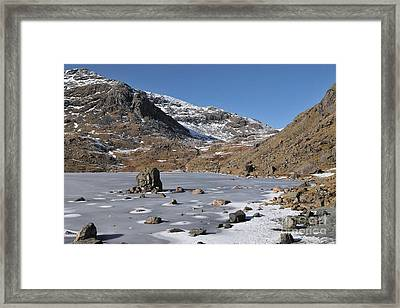 Levers Water Framed Print