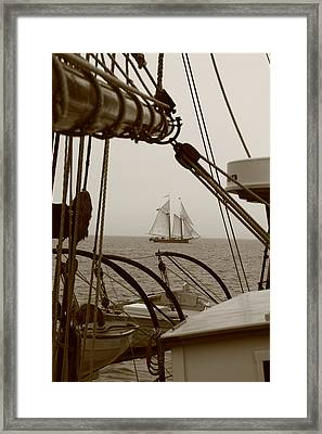 Lewis R French Framed Print