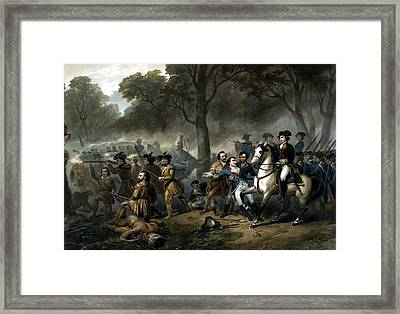 Life Of George Washington -- The Soldier Framed Print by War Is Hell Store