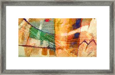 Lifelines Framed Print by Lutz Baar